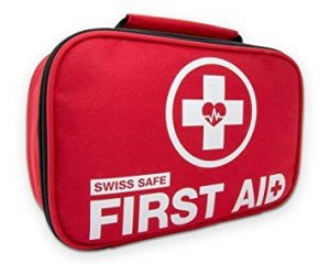 hiking first aid kid - swiss safe