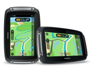 TomTom Rider route planning