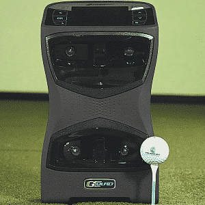gcquad launch monitor and tee